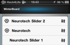 alternativen Slider über Winterboard aktivieren