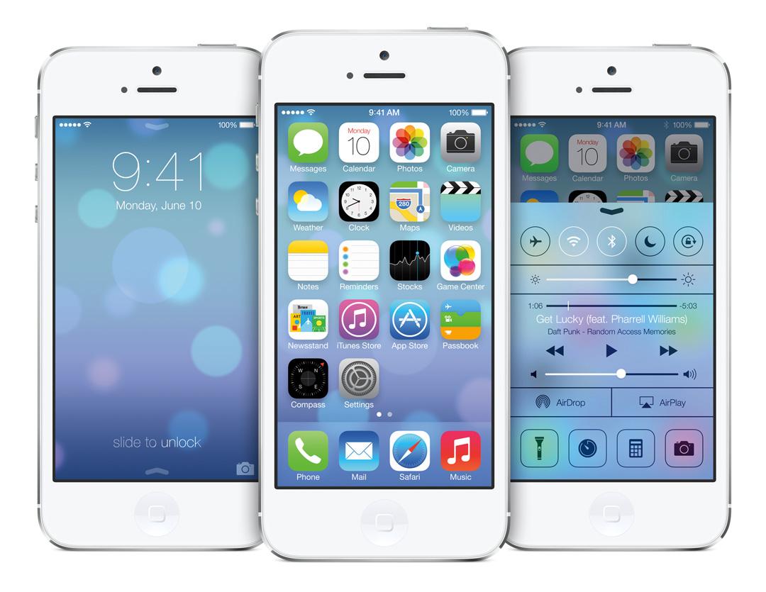 Features von iOS 7, Erfahrungen mit der ersten Beta Version