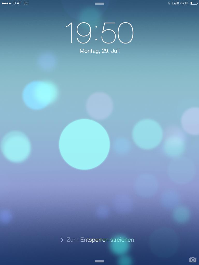 Änderungen von iOS 7 beta 4 auf dem Lockscreen - Hack4Life - Änderungen im Überblick