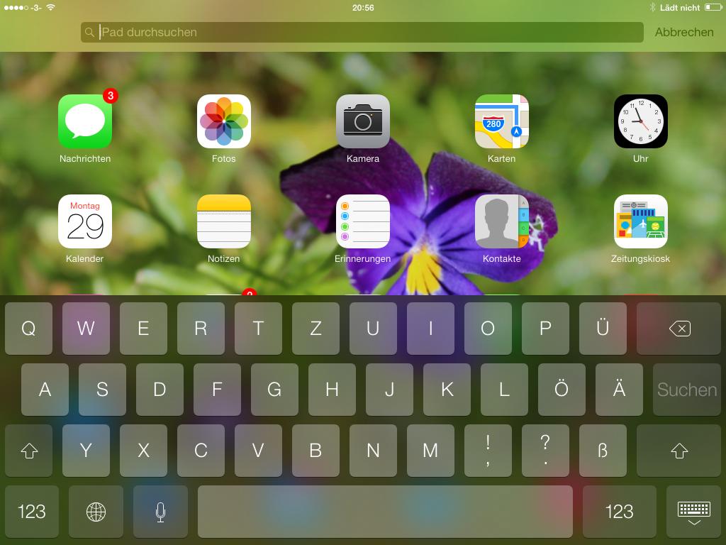 Neuer Abbrechen Button - iOS 7 beta 4 - Hack4Life - Änderungen