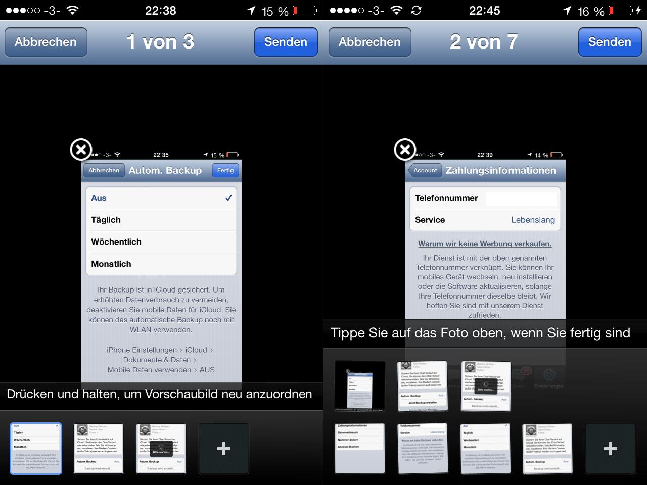 WhatsApp - Mehrere Bilder auswählen - How To - Hack4Life