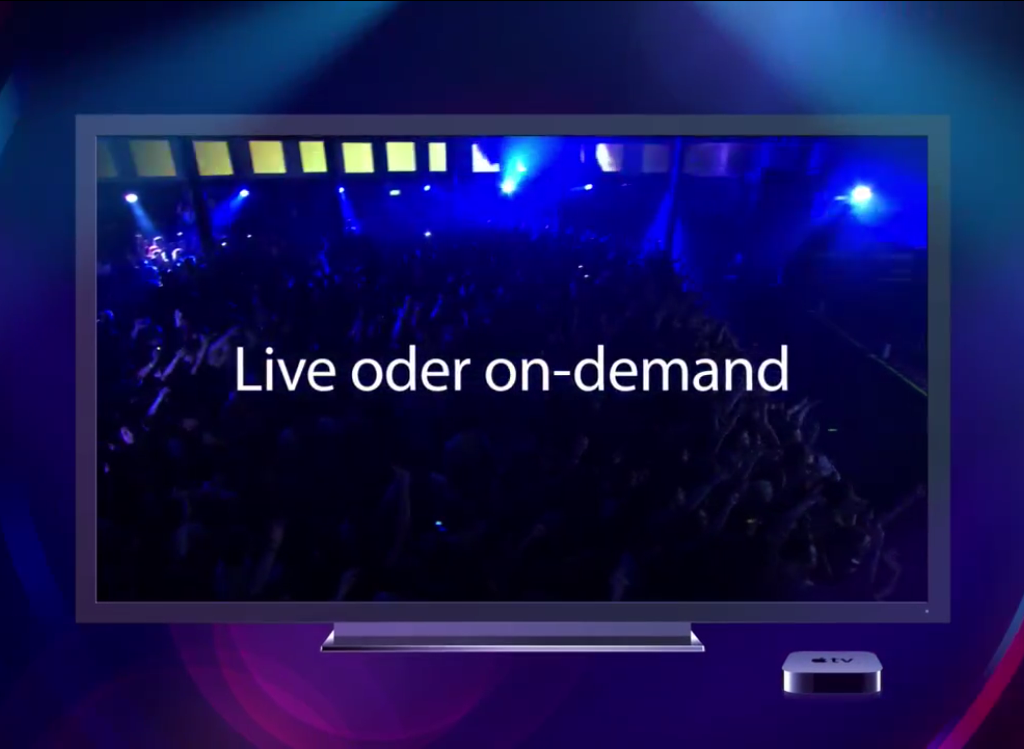 Live oder On-Demend - iTunes Festival - Hack4Life