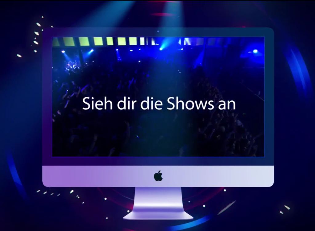 Sieh dir die Shows an - iTunes Festival - Hack4Life