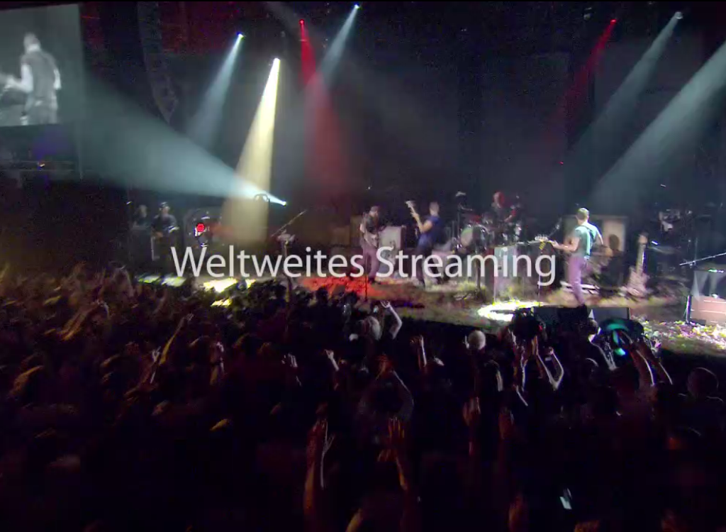 Weltweites Streaming- iTunes Festival - Hack4Life