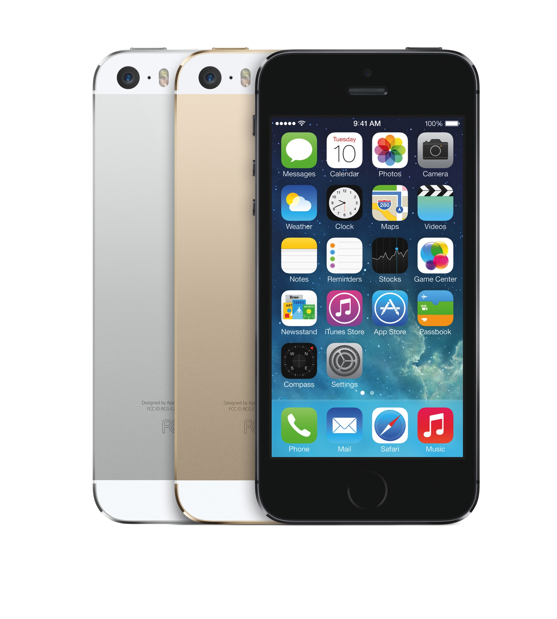 Die Farben des iPhone 5S - Grau, Gold, Schwarz - Hack4Life