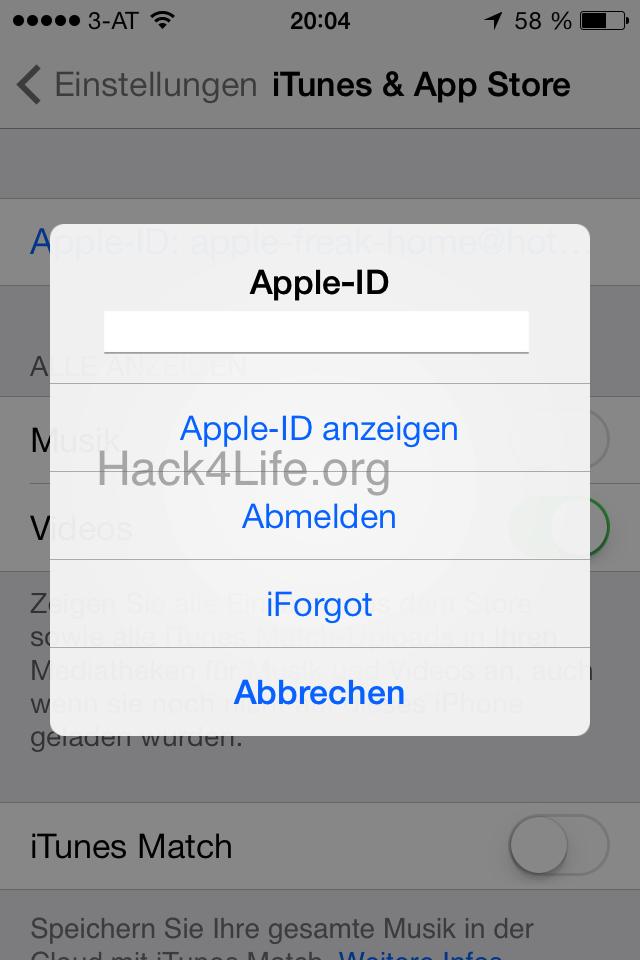 iTunes Store Abstürze beheben - iOS 7 Entschlüsselt - Anleitung - How-To - Tipp - Trick - Apple - iPhone - iPad - iPod touch - Hack4Life