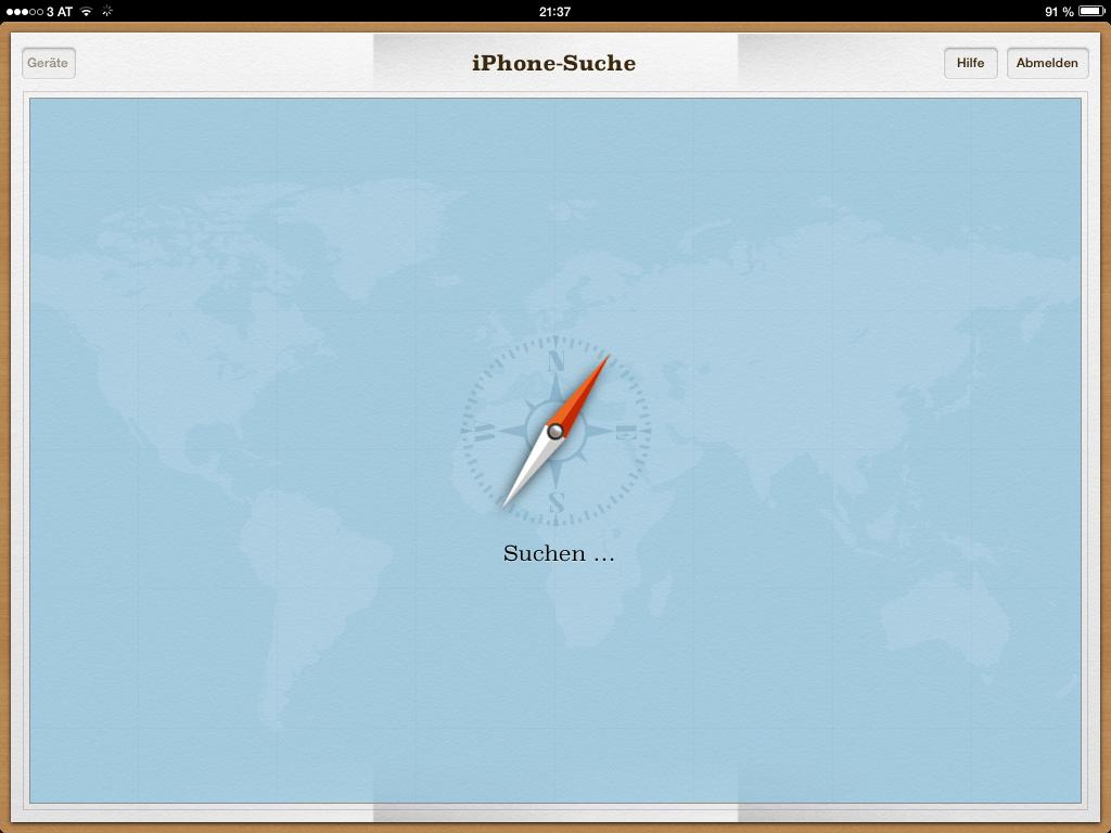 iCloud Webseite - Verlorenes iPhone wieder finden - Anleitung - How-To - Tutorial - Hilfe- Hack4Life - iOS 7 Entschlüsselt - iPhone - iPod touch - iPad