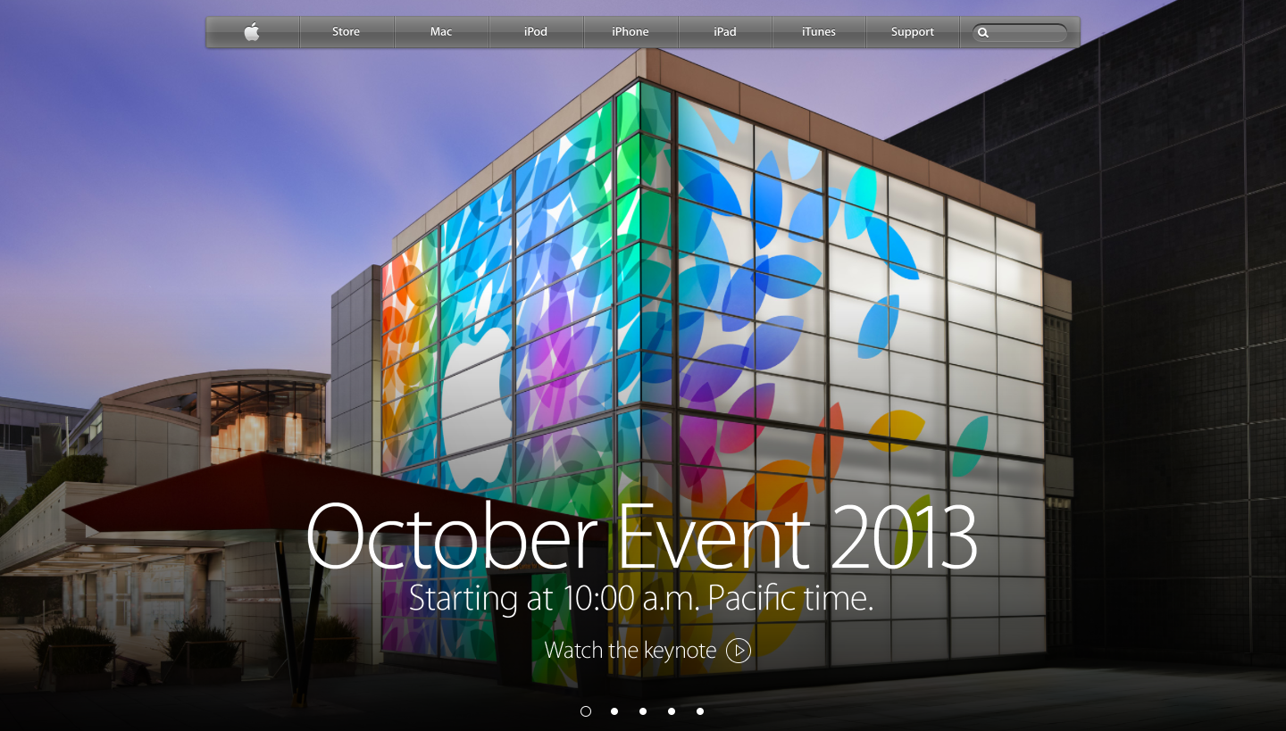 Apple October Event - Yerba Buena Center - San Francisco - Live Stream - Apple - direkt - online - live ticker