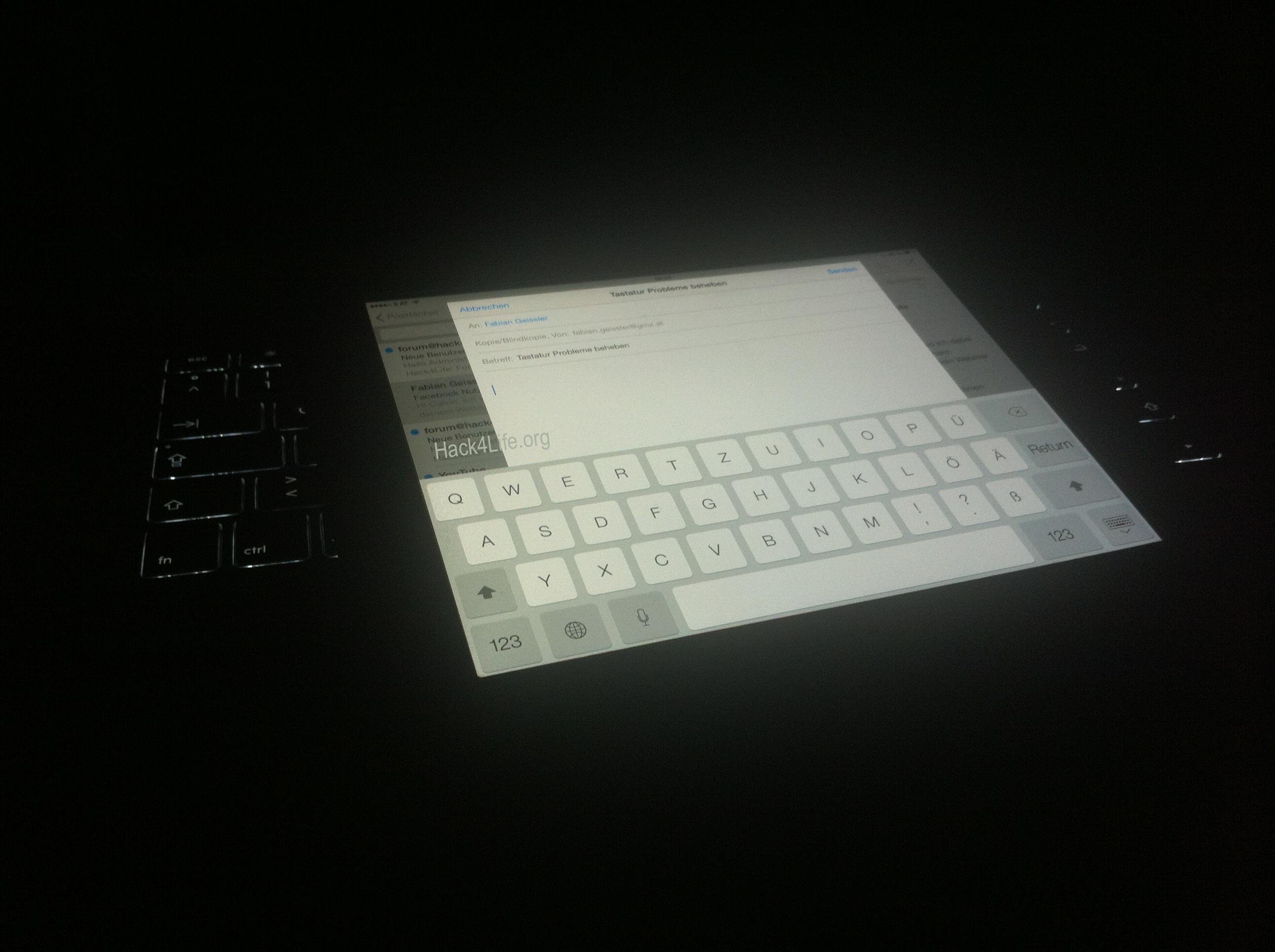 Tastaturprobleme unter iOS 7 beheben - Hack4Life - Anleitung - Keyboard - Tastatur - Bug - Trick - Tipp - How-To