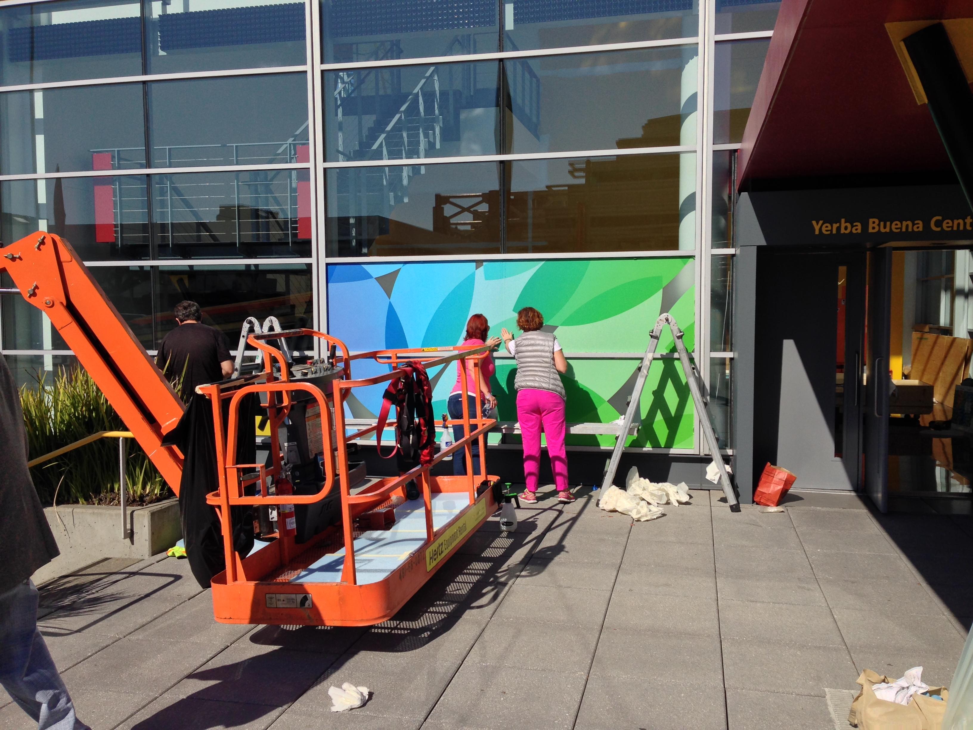Yerba Buena Center - San Francisco - Dekoration - iPad Event - Apple Event - We still habe a lot to cover - Hack4Life