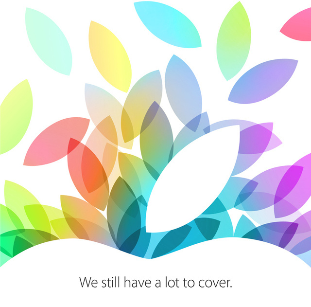 Einladgun zum Apple Event am 22. Oktober - We still have a lot more to say - Hack4Life - Produkte - Mavericks - iPad Mini - Touch ID - Mac Pro - MacBook Pro - Hack4Life