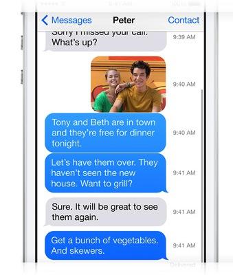 Zeitstempel unter iOS 7 - iOS 7 Entschlüsselt - iMessage - Nachrichten - Anleitung - How-To - Tutorial - Hack4Life
