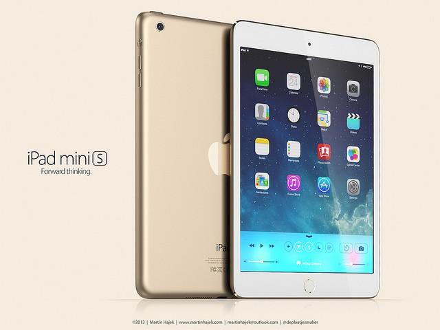 iPad Mini 2 mit Retina Display in Gold und mit Touch ID - Hack4Life - Gerüchte - Aktuell - Update - Kostenlos - Apple - Keynote - Yerba Buena Center - San Francisco - 22. Oktober