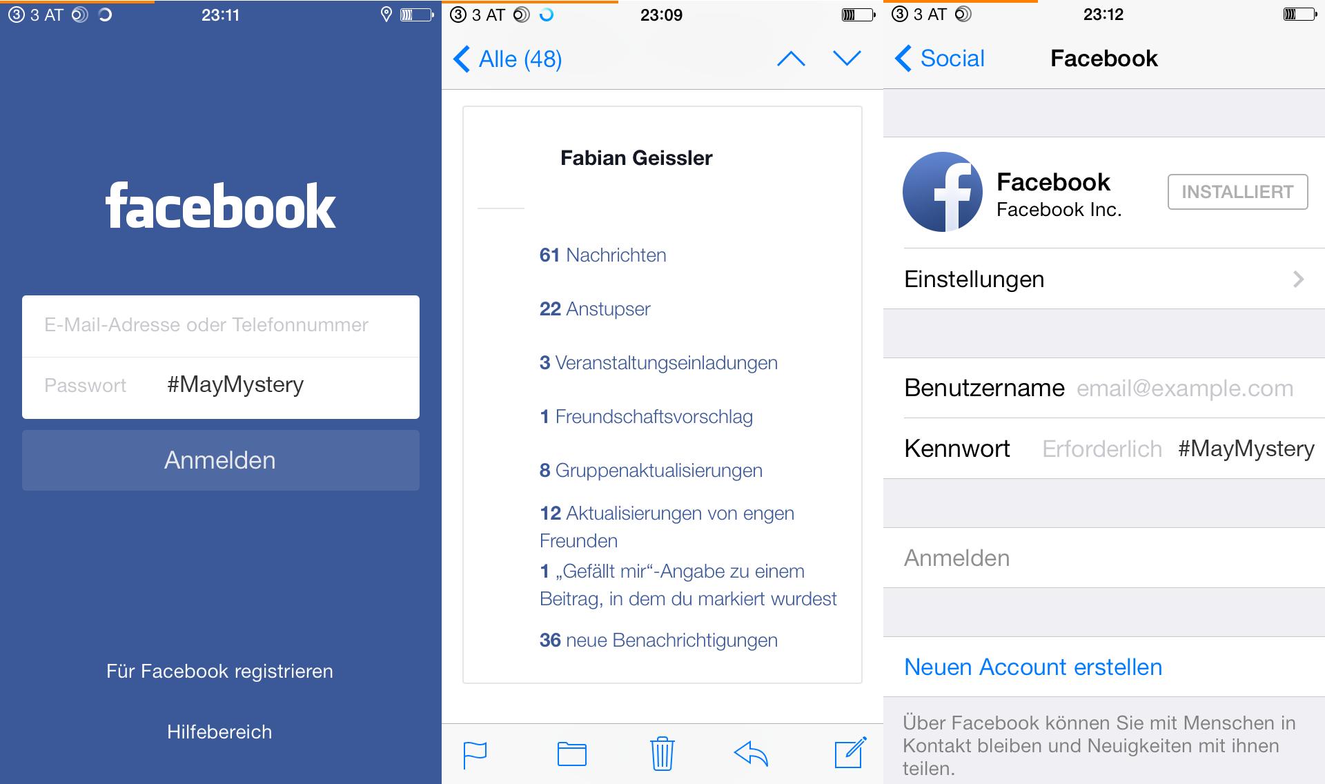 Hack4Life, #MayMystery, Selbstexperiment, Fabian Geissler, Facebook, Benachrichtigungen