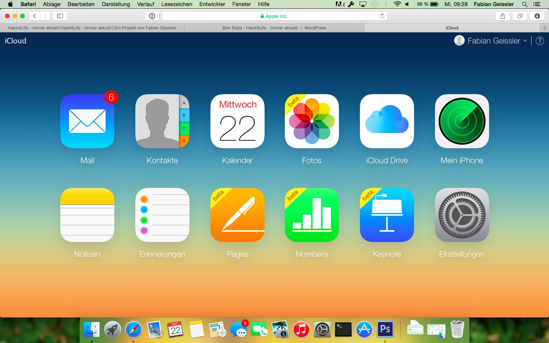 iCloud, Fotos, Fotomediathek, Beta, iOS 8.1, Mac OS X Yosemite, Anleitung, Aktivieren, Verwendung, Hack4Life, Fabian Geissler