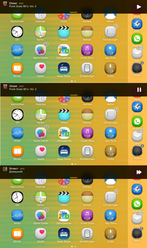 Everest Cyida tweak Review, Hack4Life, Fabian Geissler, iPhone 6 Plus, Funktion, Feature, Hidden