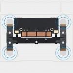 Aufbau vom Force Touch TrackPad im neuen MacBook