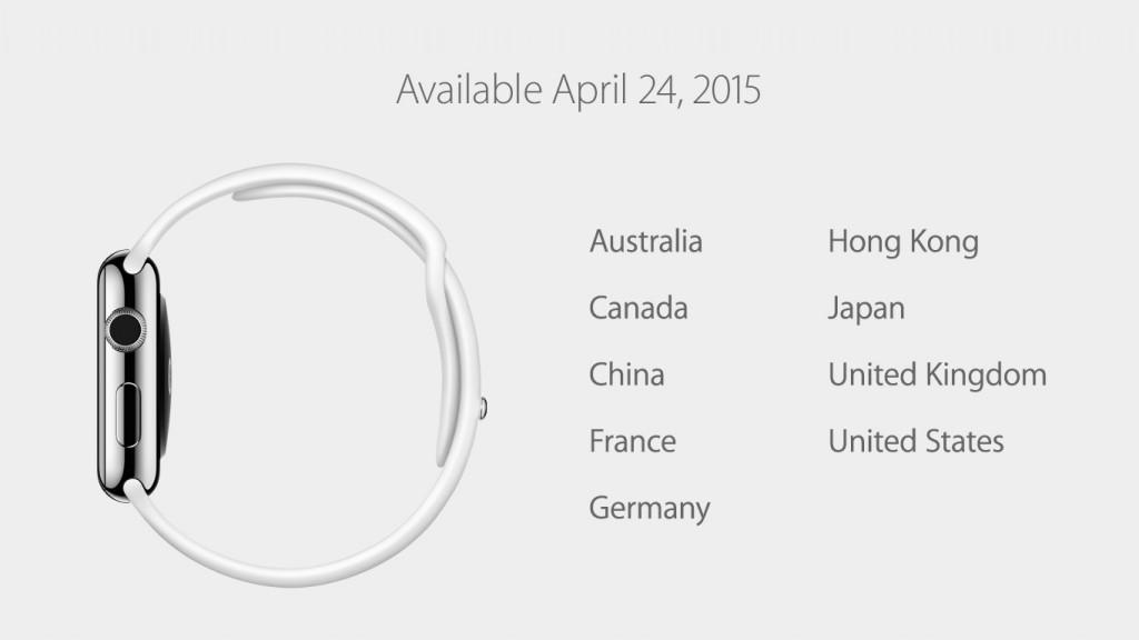 Apple Watch, Verfügbarkeit, Tabelle, Deutschland, Österreich, Schweden, Finnland, Belgien, Schweiz, Hack4Life, Fabian Geissler, Termine, Genau, Datum, Apple Store