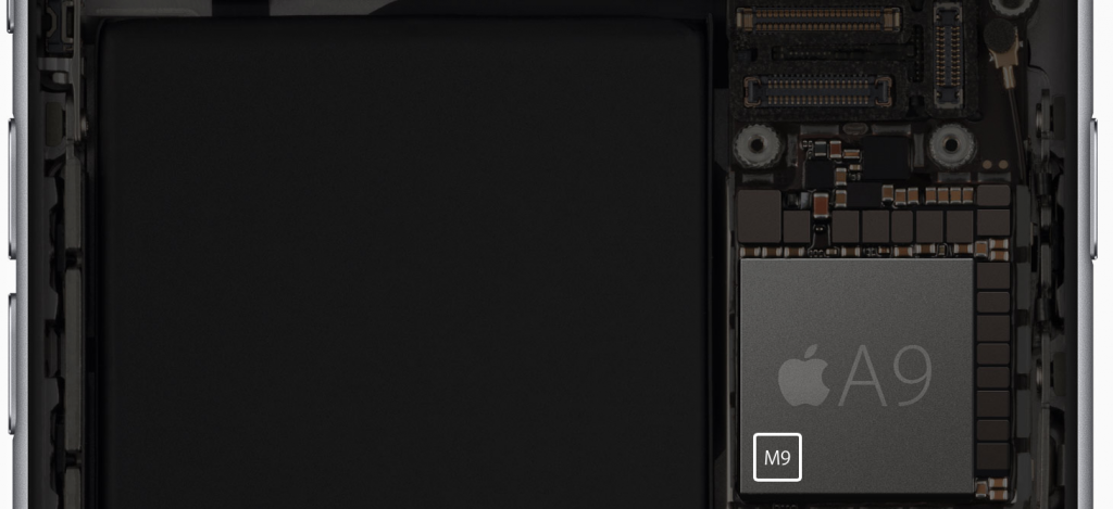 Der neue A9 Prozessor mit integriertem M9 Co Prozessor, Hack4Life, Fabian Geissler