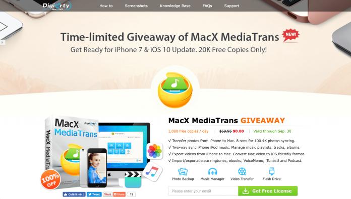 MacX MediaTrans Giveaway - Hack4Life
