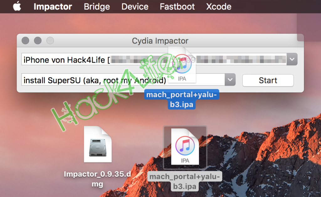 Yalu mittels Cydia Impactor installieren