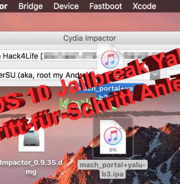 iOS 10.1 Jailbreak Yalu veröffentlicht: Anleitung auf Hack4Life