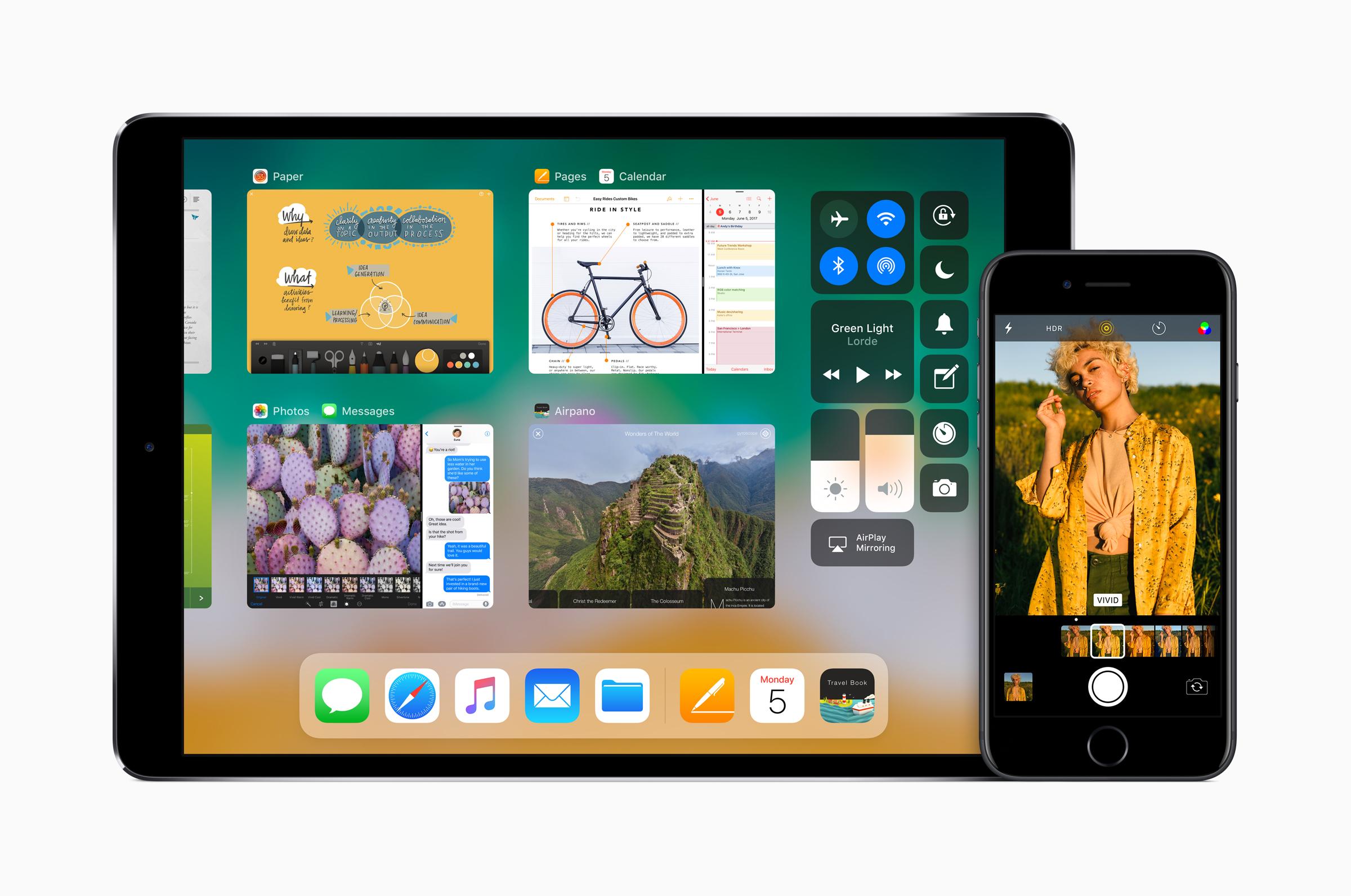 iOS 11 auf dem iPad, Hack4Life