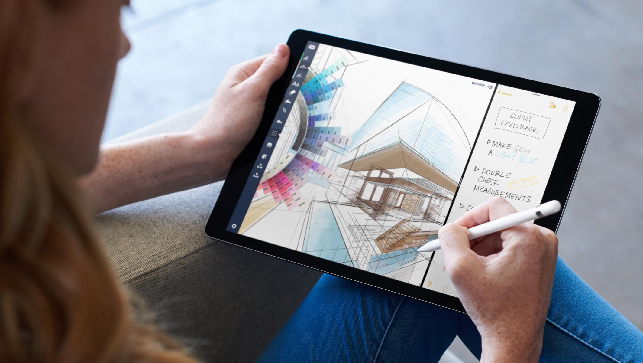 Apple Pencil mit iOS 11 auf dem iPad, Hack4Life