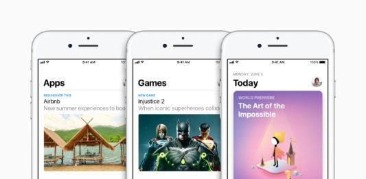 Überarbeiteter AppStore in iOS 11