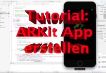 Eigene ARKit App erstellen Tutorial - iOS 11, Swift 4, Hack4Life, Fabian Geissler, ARKit Tutorial