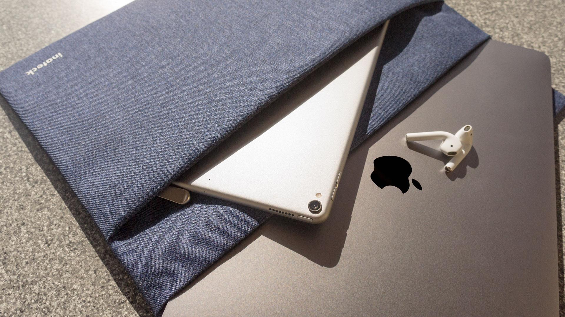 2 Zusätzliche Fächer sorgen für mehr Stauraum, Inateck MacBook Tasche Review auf Hack4Life von Fabian Geissler
