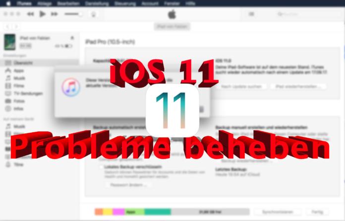 Probleme bei der Installation von iOS 11 beheben, Hack4Life ,Anleitung
