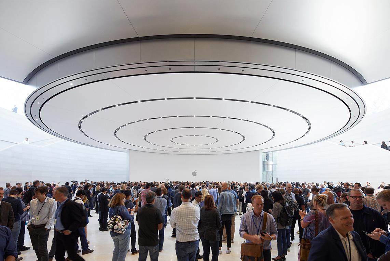 Eingangsbereich, Steve Jobs Theater, Hack4Life, Fabian Geissler