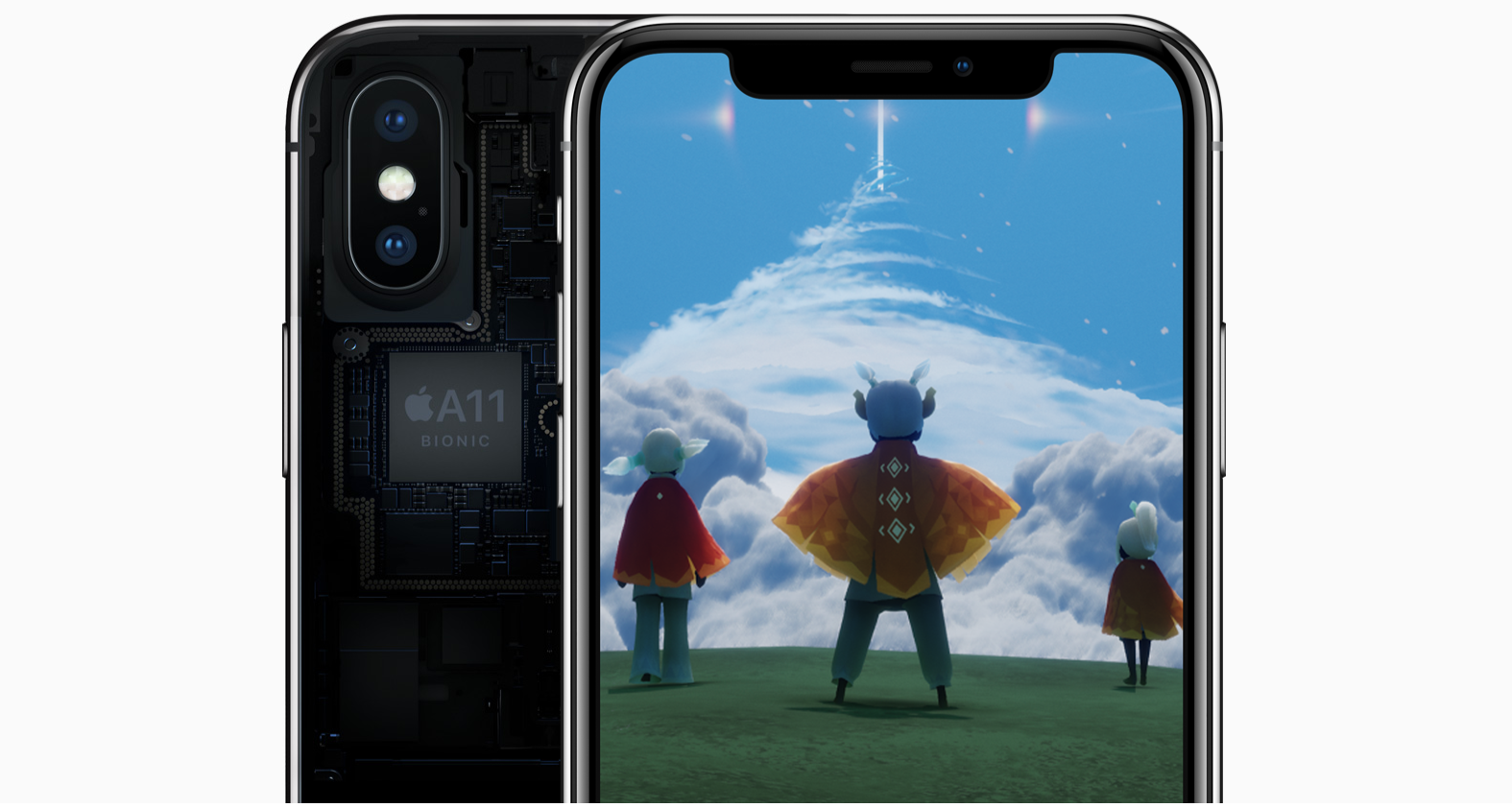 A11 Bionic, CPU und GPU im iPhone X