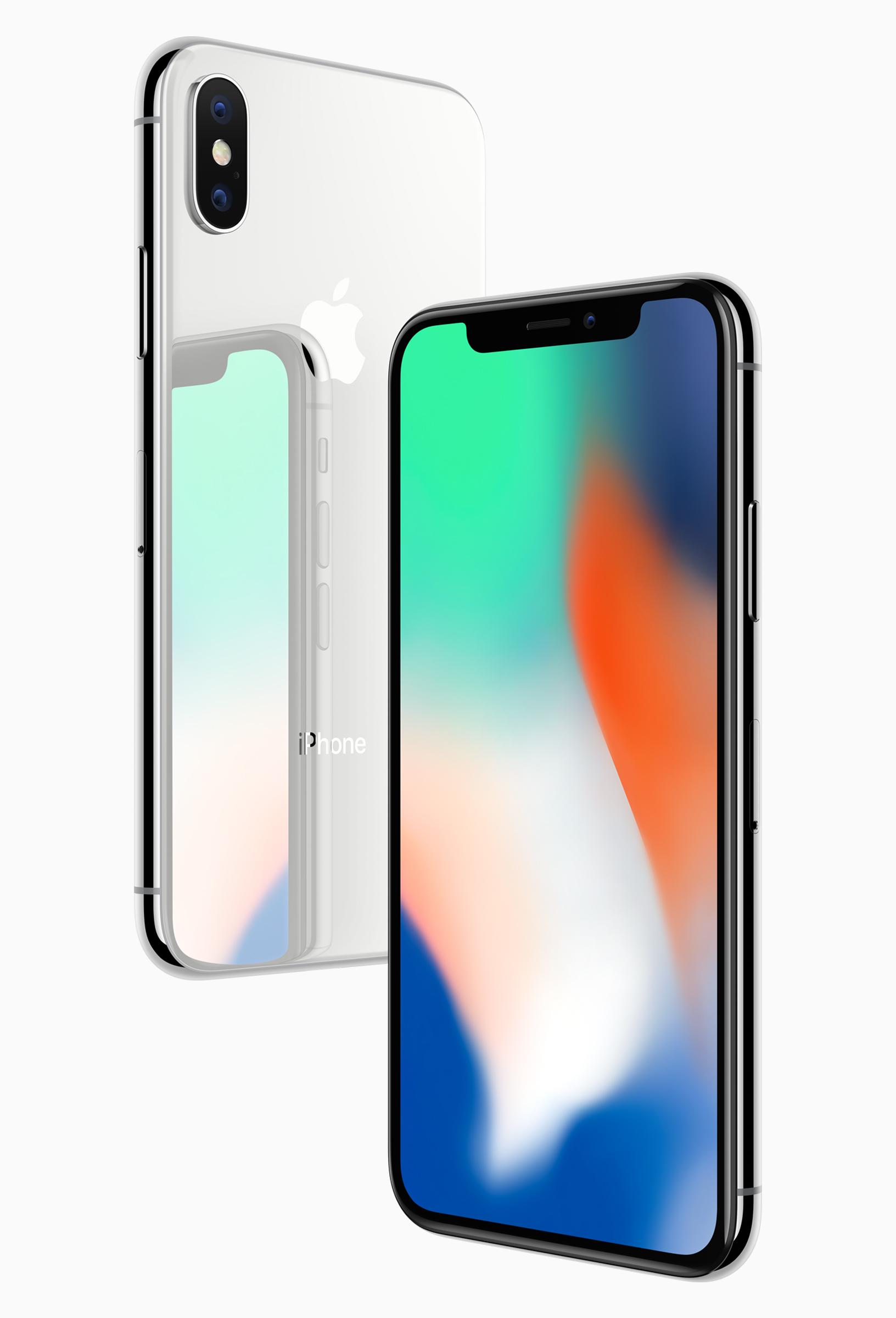 Vorder- und Rückseite aus Glas, iPhone X, Apple, Smartphone, Hack4Life
