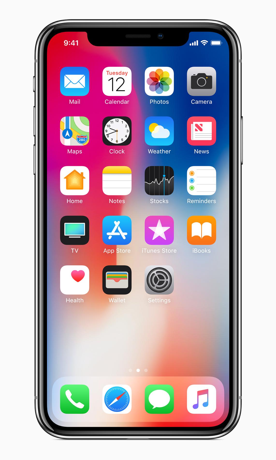 Statusbar auf dem iPhone X, Hack4Life, Fabian Geissler, Batterieladung in %, Tipp, How To