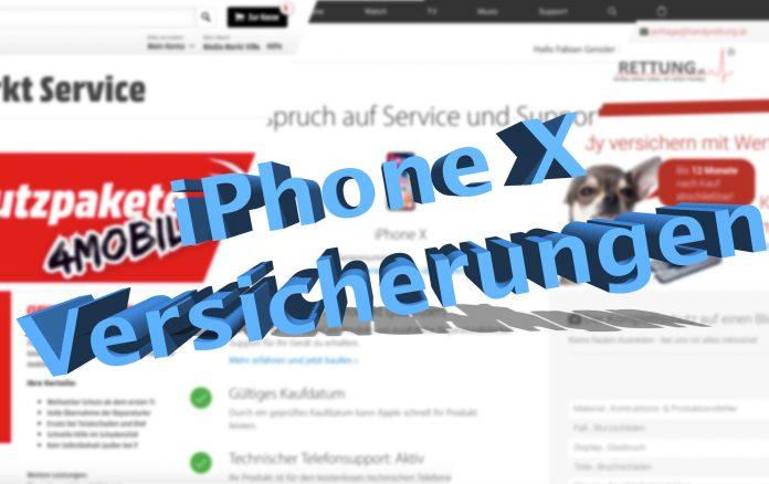 AppleCare+ für das iPhone X - Versicherungen im Vergleich, Hack4Life, Fabian Geissler, Valentina Maurer, MediaMarkt, Handyrettung, Flexi4Mobile, Clever4Mobile