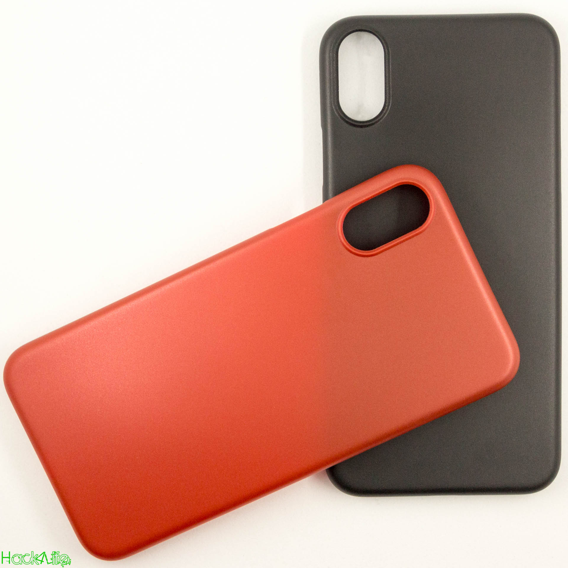 Deep Black und Red Edition der CellBee Ultraslim Case auf dem iPhone X im Test, Review, Hack4Life, Fabian Geissler