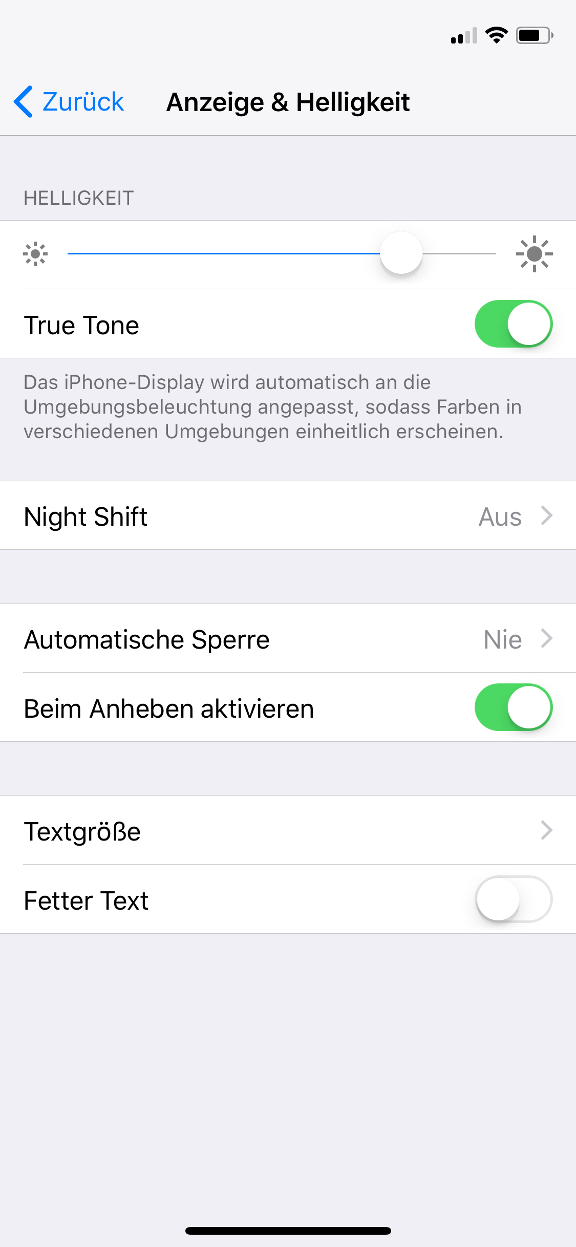 True Tone Display im iPhone X, Hack4Life, Fabian Geissler