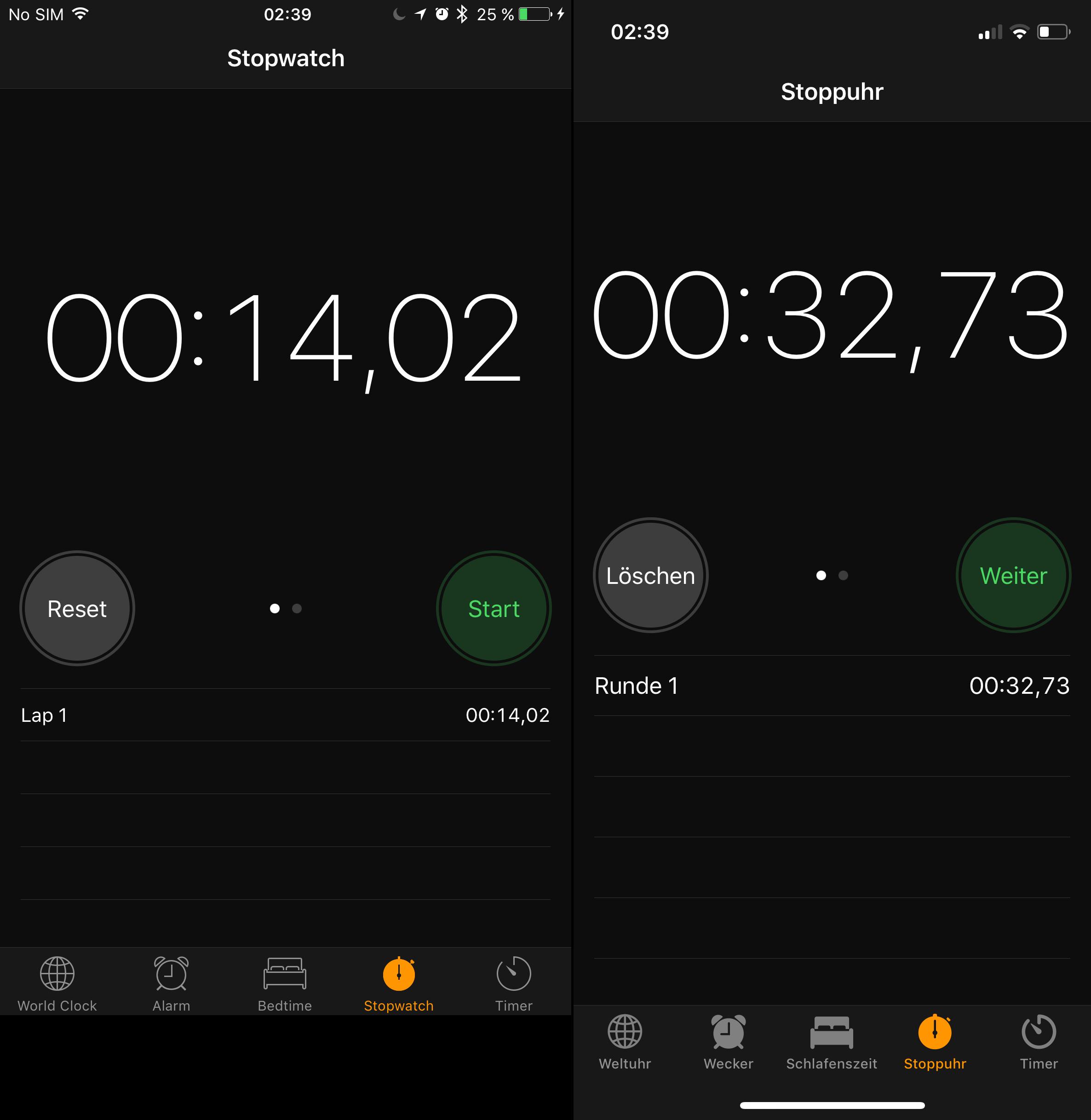 Startzeit vom iPhone X und vom iPhone 7 Plus, Hack4Life, Fabian Geissler