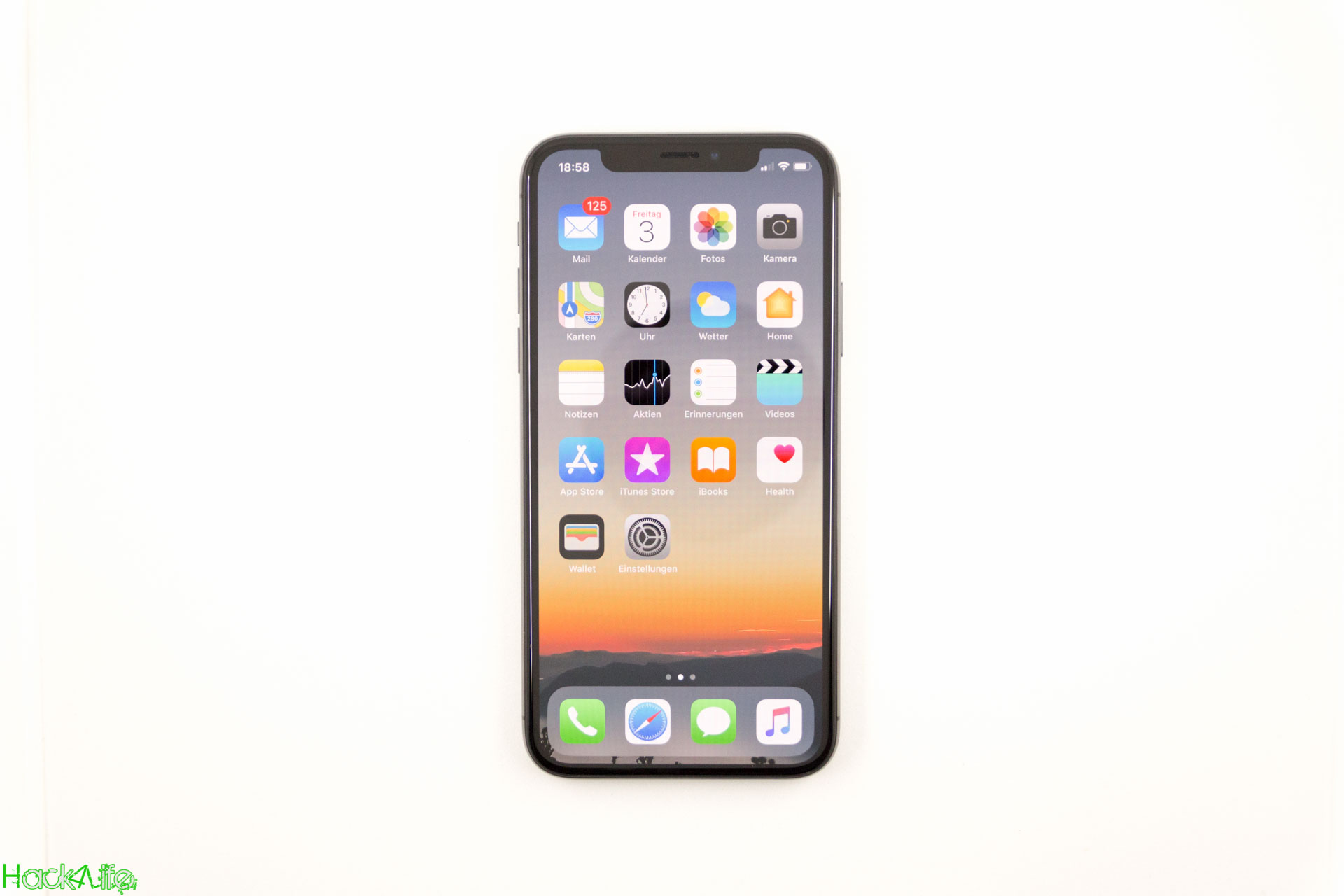 iPhone X Review auf Hack4Life - Fabian Geissler