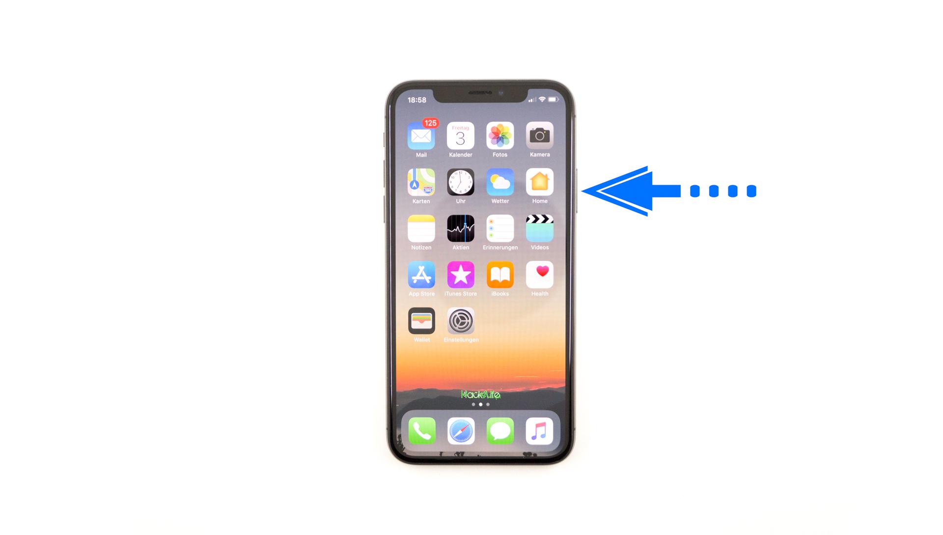 Shortcut für Apple Pay auf dem iPhone X benutzen, Hack4Life, Fabian Geissler, Trick, Anleitung, How To