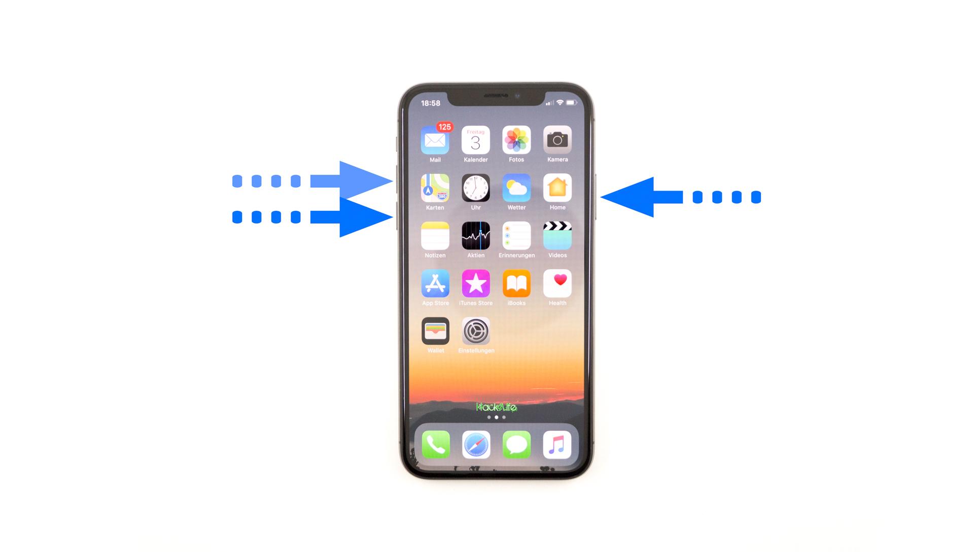 Iphone 8 Neu Starten Tastenkombination