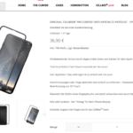 CellBee Displayschutz, Webseite, Screenshot, iPhone X, Fabian Geissler, Hack4Life