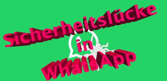 WhatsApp Sicherheitslücke in Gruppenchats