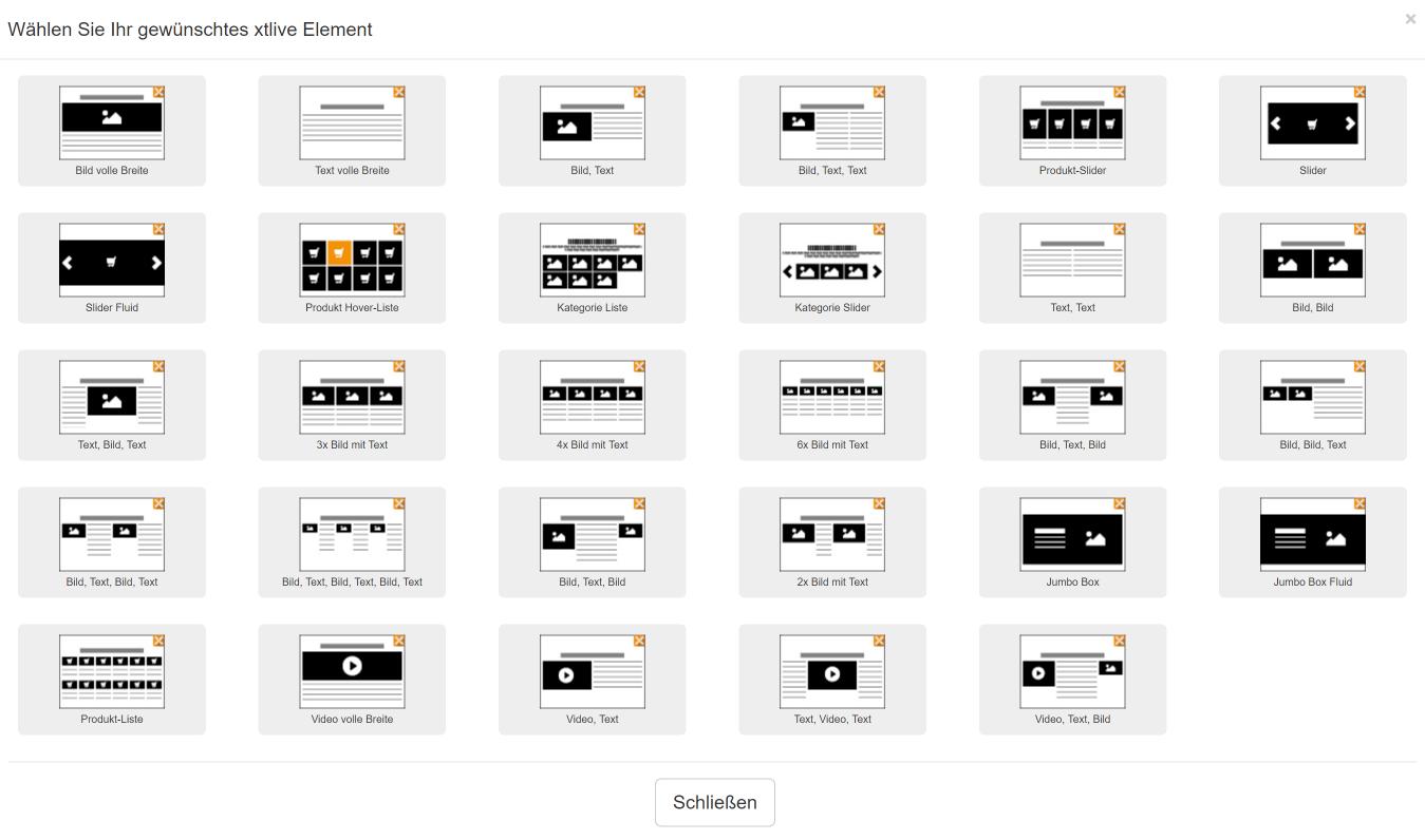 XTLive Elemente, xt:commerce, Hack4Life, Fabian Geissler, Test, XeroGrafiX, xgx
