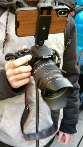 Kamerasetup für die Eröffnung, Apple Store Kärntnerstraße, Grand Opening, Hack4Life, Fabian Geissler