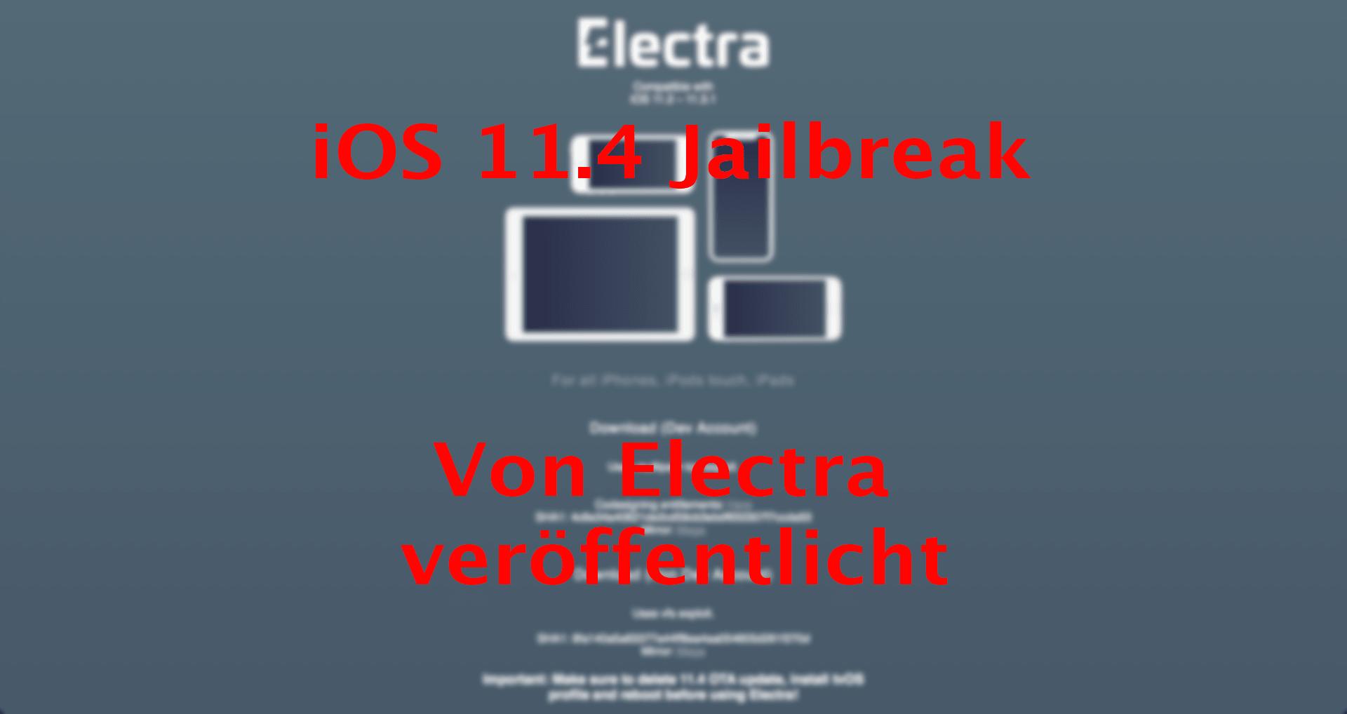 iOS 11.4 / iOS 11.4.1 Jailbreak