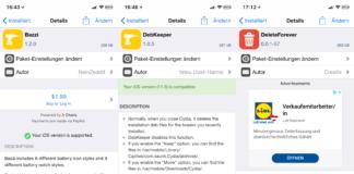 Top Cydia Tweaks, Ausgabe 6, Bazzi, Deleteforever, Show My Touch, PullToRespring, DebKeeper, Hack4Life, Fabian Geissler, Sileo
