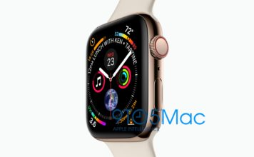 Apple Watch Series 4 von Apple vorgestellt, Leak, Bild, watchOS 5, 9to5mac, Hack4Life, Fabian Geissler